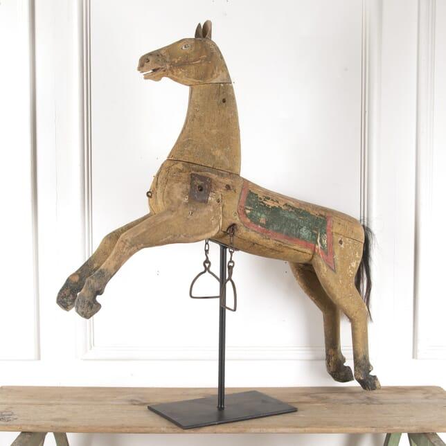 Wooden Folk Art Horse DA6013705