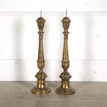 Wooden Pricket Candlesticks DA8810291