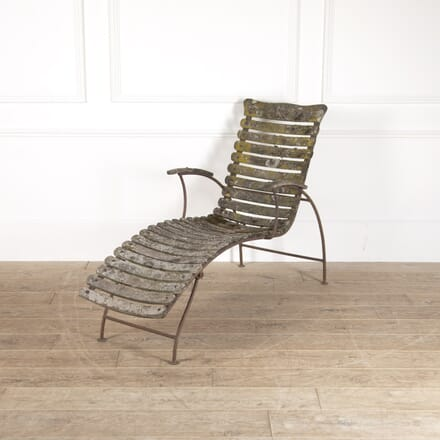 French Wooden Reclining Chair CH3514252