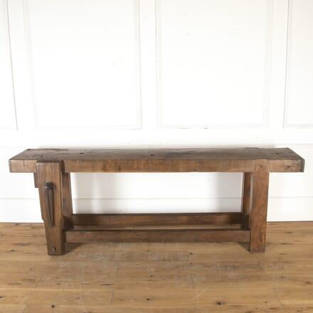 19th Century Walnut Work Bench TD7914007