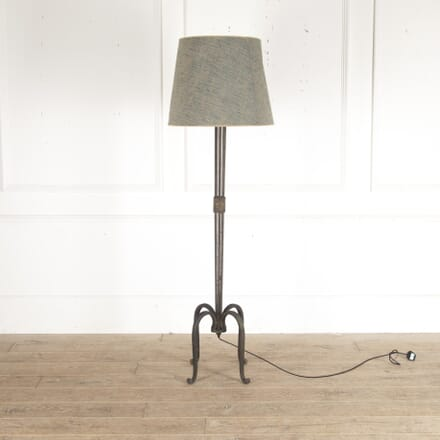 Wrought Iron 1930s Art Deco Floor Lamp LF2913558