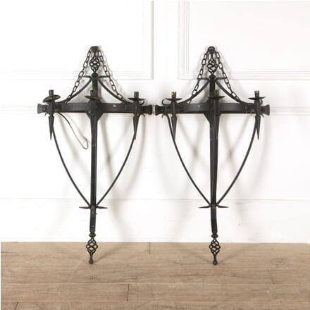 Wrought Iron Wall Sconces DA8810957