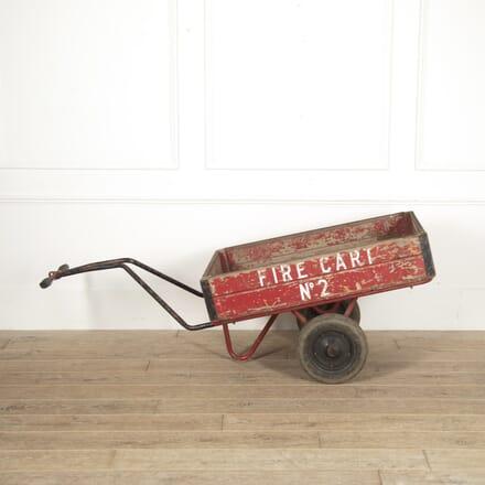 Original World War Two Fire Cart DA7815290