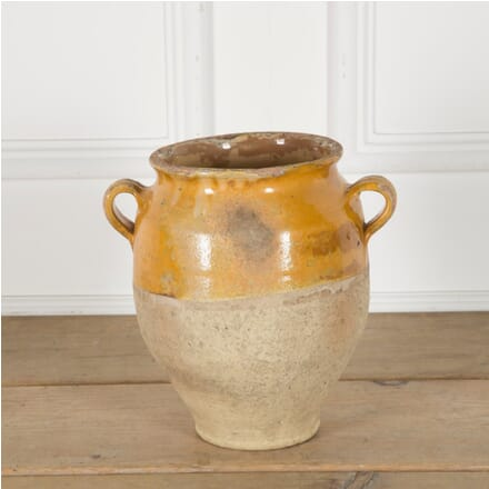 Yellow Glazed Confit Pot DA1510038