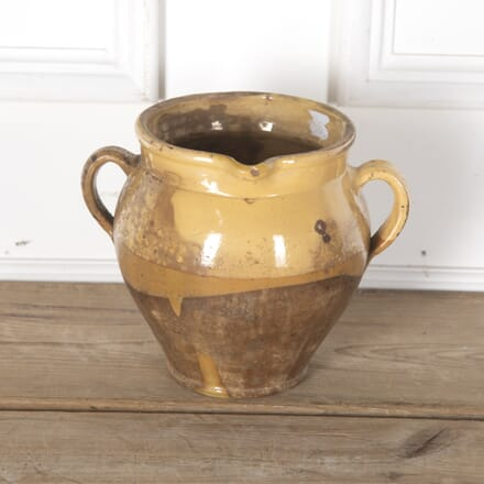 Yellow Provençal Pot with Ears DA7112035
