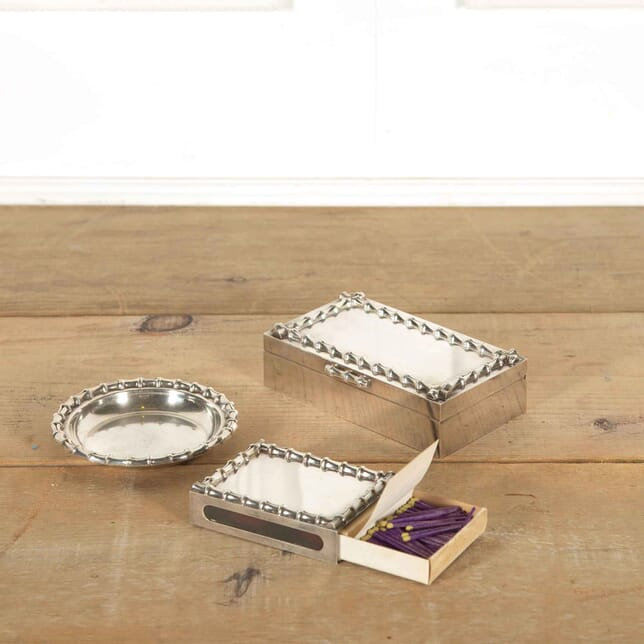 Collection of Christian Dior Silver Plate Items DA298131