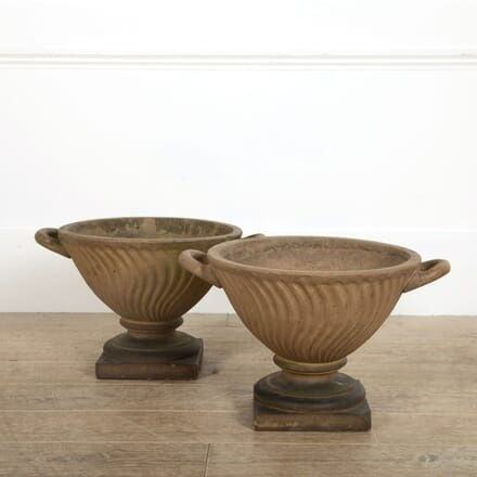 Doulton Terracotta Garden Urns GA098869