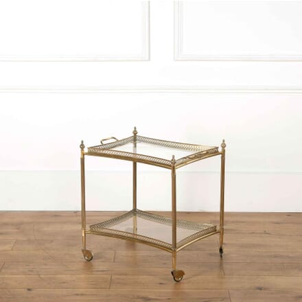 French Brass Drinks Trolley TS358079