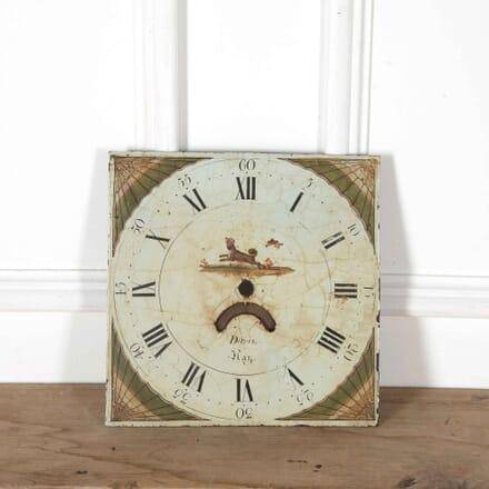 Early 19th Century Decorative Clock Face DA998066