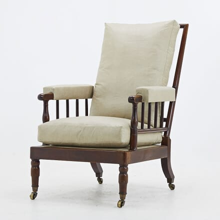 Early 19th Century French Mahogany Armchair CH068492