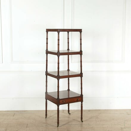 Early 19th Century Mahogany Whatnot BK398358
