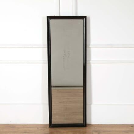 Ebonised Drapers Mirror MI718277