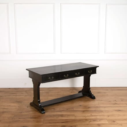 Ebonised English Writing Table DB018037