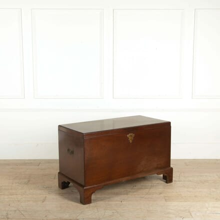 Eighteenth Century Caddy Top Georgian Blanket Chest LT298583