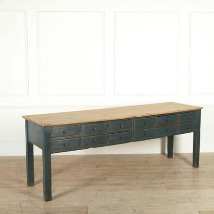 English Painted Dresser Base BU048725