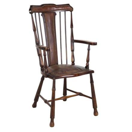 English Stick-Back Armchair CH158009
