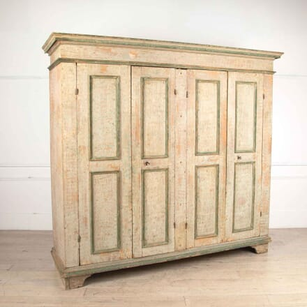 Exceptional Italian Four Door Cupboard CU018173