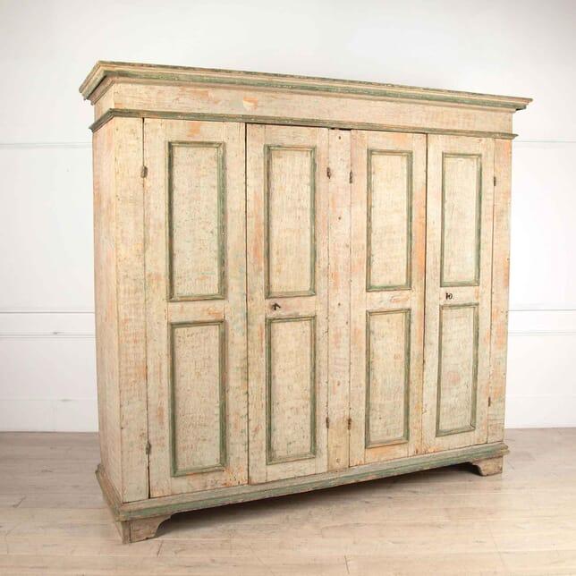 Exceptional Italian Four Door Cupboard CU18173