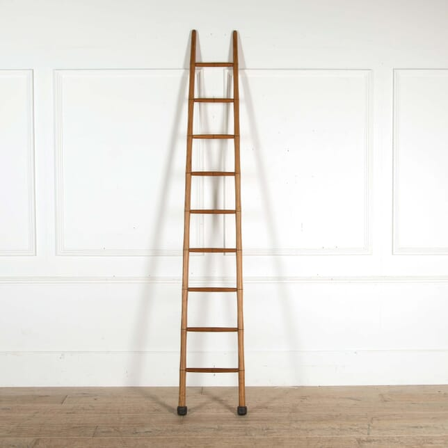 Faux Bamboo Library Ladder DA458405
