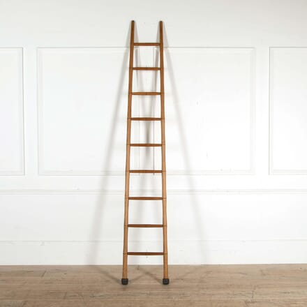Faux Bamboo Library Ladders DA458405
