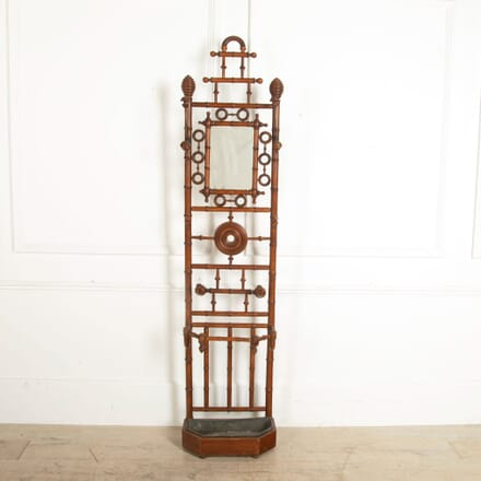 Faux Bamboo Hall Stand OF157036