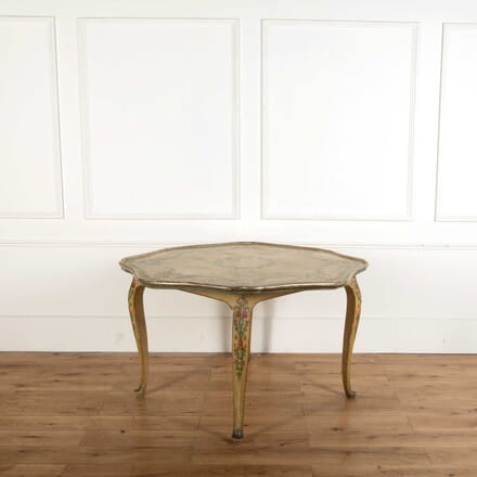 Florentine Painted Centre Table TC748843