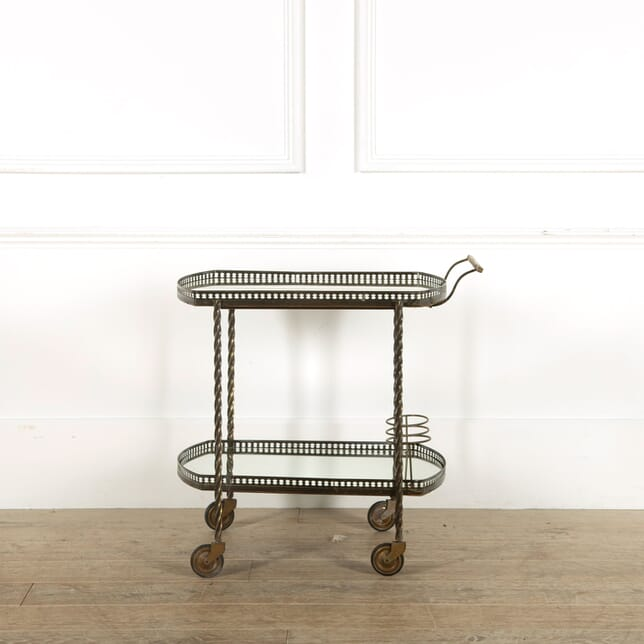 French Brass Cocktail Trolley TS458984