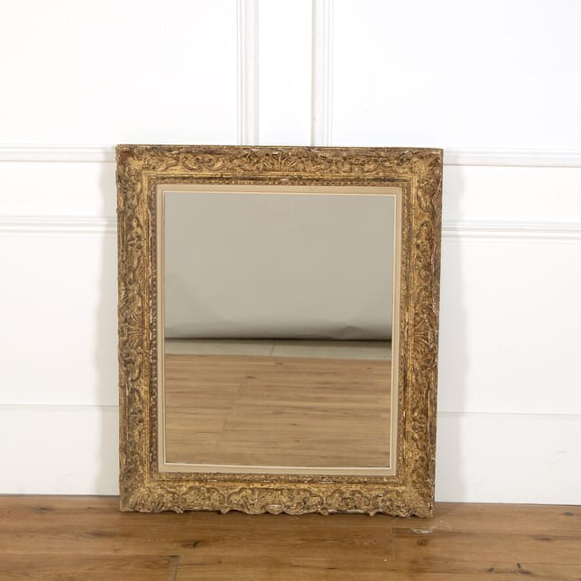 20th Century French Carved Framed Mirror MI358963