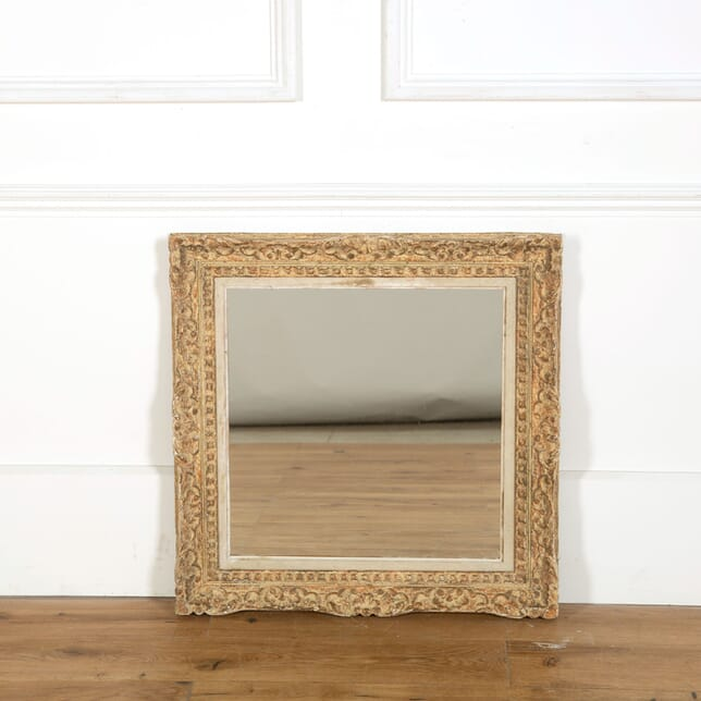 French Carved Framed Mirror MI358965