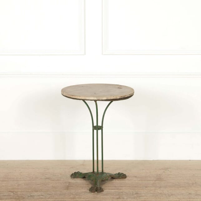 French Marble Top Bistro Table GA458798