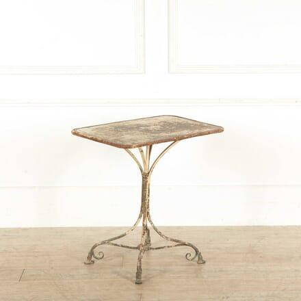 French Metal Table GA028185