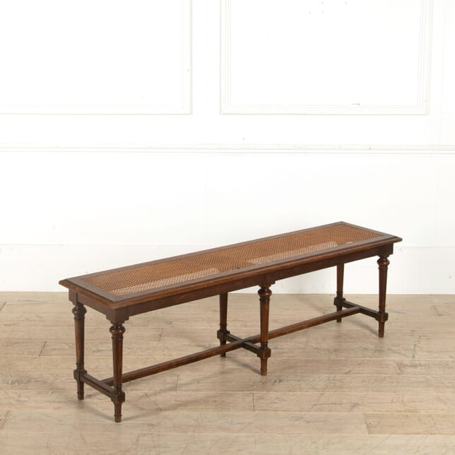 French Oak Hall Bench SB458032