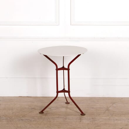French Iron Gueridon/ Bistro Table TC287296