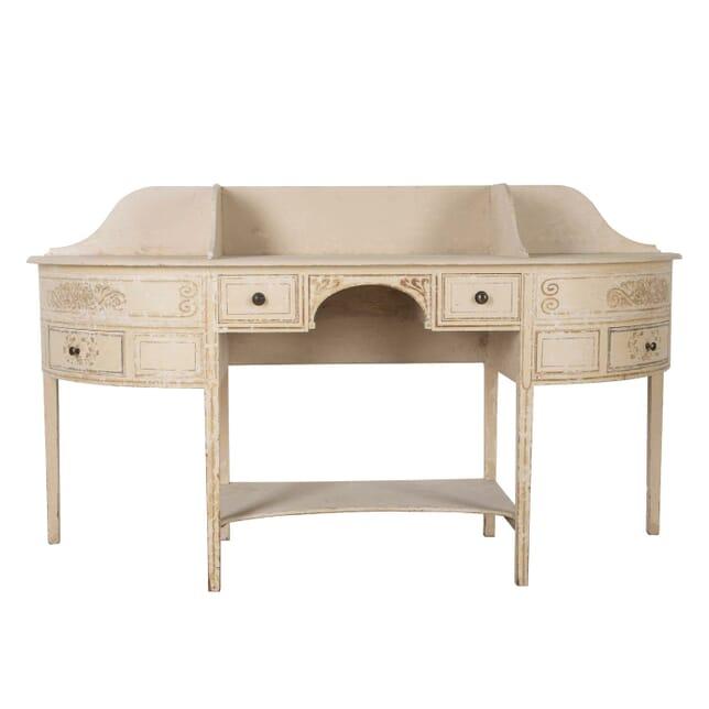 George III Original Painted Pine Dressing Table TS0960272