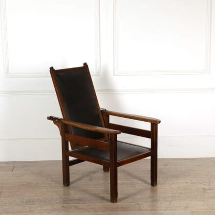 Heals Arts and Crafts Recliner Armchair CH058548