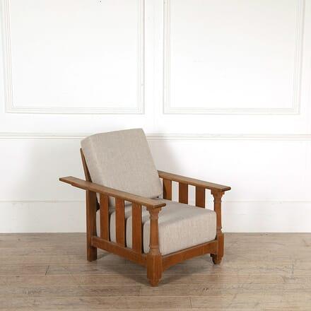 Heals Arts and Crafts Tilden Recliner Armchair CH058549
