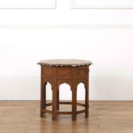 Anglo Indian Hoshiarpur Side Table TC638102