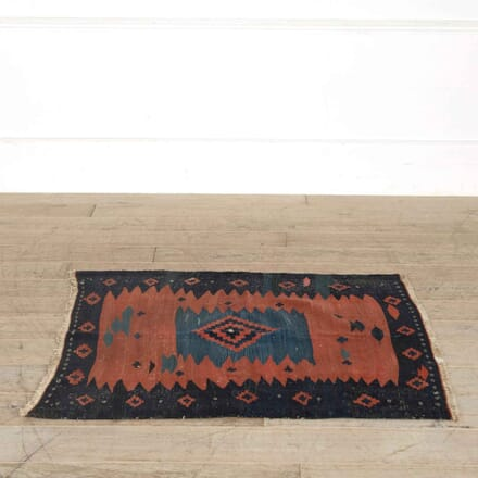 Iranian Tribal Square Sofreh Kilim RT998163