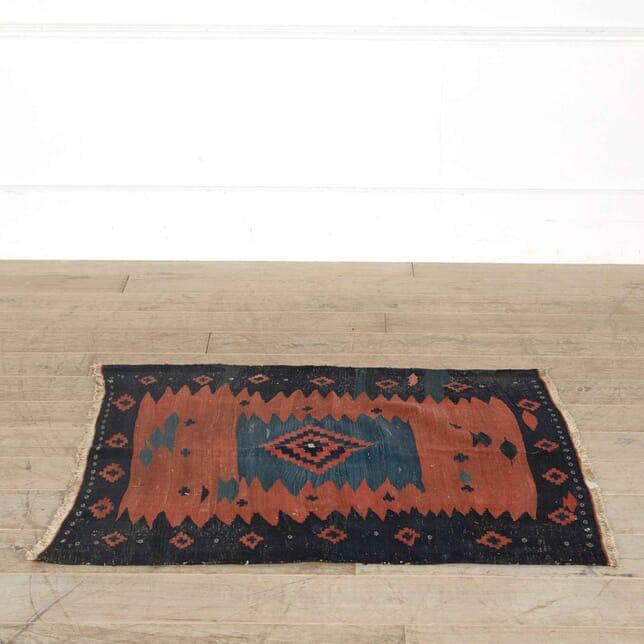 Iranian Tribal Square Sofreh Kilim RT998163