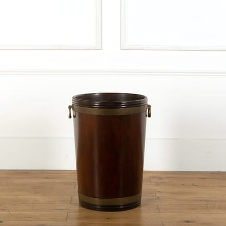 Large Irish Mahogany Bucket DA278874