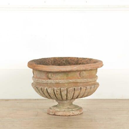 Italian Terracotta Vase GA028188
