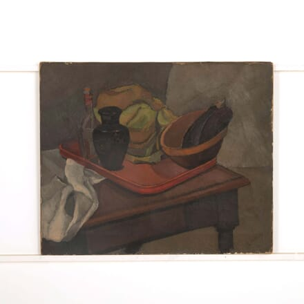 Kitchen Table Still Life with Aubergines WD098775