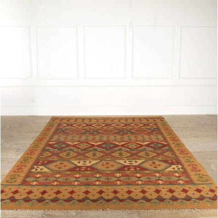 Large Afghan Wool Kilim RT998167
