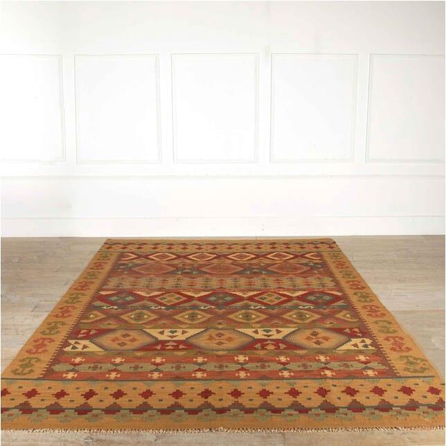 Large Afghan Wool Kilim RT998167