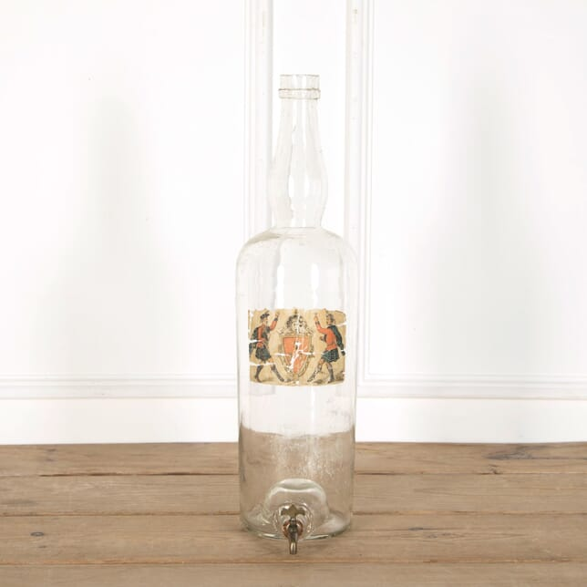 Large Bon Accord Whiskey Bottle DA998909
