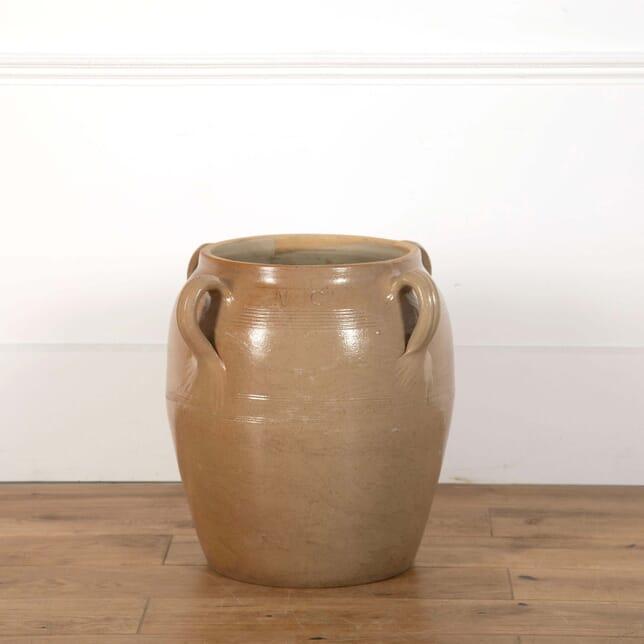 Large Glazed French Urn GA638689