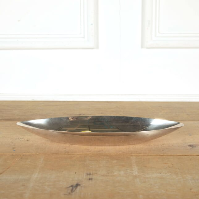 Large Lino Sabattini Oval Dish by Christofle DA298308