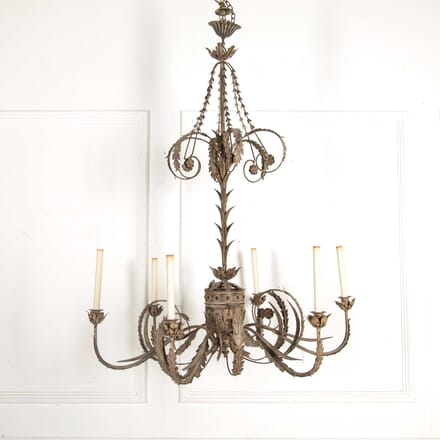 Large Metal Chandelier LC138347