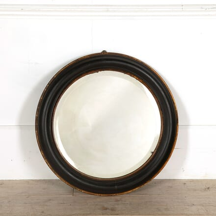 Late 19th Century Bevelled Looking Glass MI058551
