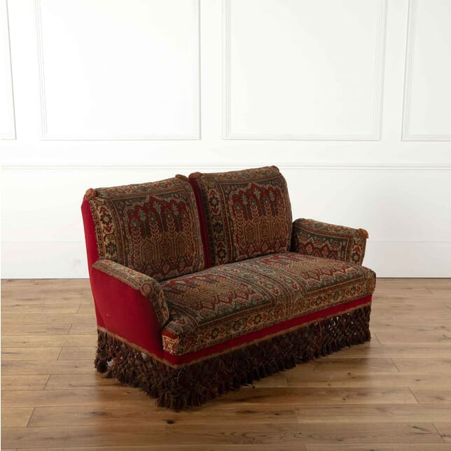 Late Victorian Carpet Sofa SB018141